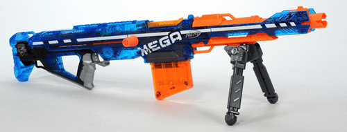 NERFのオモチャの銃